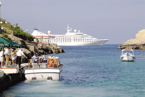 New Xlendi cruise liner berthing buoy has never been used