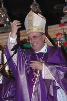 Archbishop Paul Cremona visits Gozo