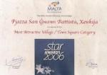 Xewkija village square wins award
