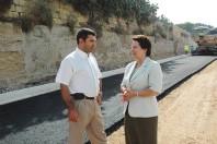 Asphalting of Ramla Road in Gozo begins
