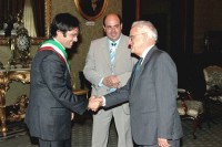 Council and Italian Delegation visit President