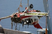 Crashed Bulldog aircraft wreckage recovered
