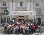 Over one-hundred people from Ghajnsielem on Italy trip