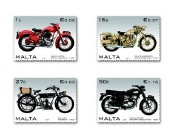 Antique motorcycles featured on new stamps