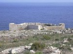 St Anthony's Battery at Qala undergoing restoration works