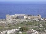 St Anthony's Battery at Qala undergoing restoration works