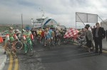 Cycling event takes place from Mgarr Harbour to San Lawrenz