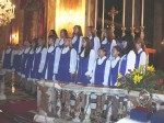 Russian Childrens Choirs compete at the Nadur Basilica