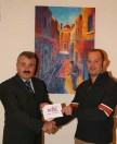 BOV supports art exhibition by Christopher Saliba from Nadur