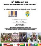 5th Edition of the Malta International Folk Festival in Victoria