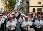 Christmas band marches in Victoria with the La Stella Band