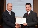 BOV awards employee for submitting best suggestion of 2007