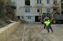Ministry for Gozo workers repairing and clearing after storms