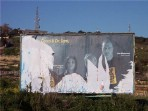 BirdLife Maltese personalities campaign billboards vandalised