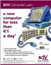 BOV launches a new computer loan for less than €1 a day