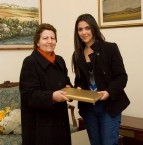 Morena receives congratulations from the Minister for Gozo