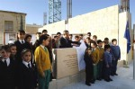 Prime Minister lays foundation stone at new Victoria school