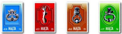 Door knockers to feature on a new set of MaltaPost stamps