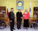 Malta Charities Association gives donation to Arka Foundation