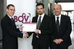 Student Andre Xuereb awarded first BOV prize in mathematics