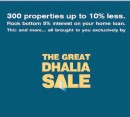 Special BOV Home Loan Package for the Great Dhalia Sale