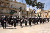 The anniversary of Freedom Day was celebrated in Gozo today