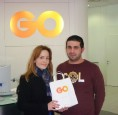 Competition winner lands GO Plus services worth over €400