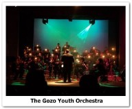 The Gozo Youth Orchestra in Concert at Oratory Don Bosco