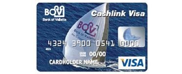 Free Visa Card from Bank of Valletta