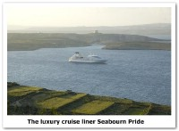 The luxury cruise liner Seabourn Pride makes 2nd visit to Gozo
