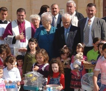 President Fenech Adami & Mrs Fenech Adami visit Gozo