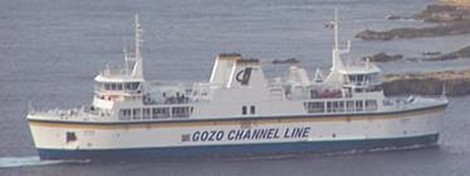 Gozo passenger & vehicle crossings down in Q4 of 2011