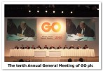 The tenth Annual General Meeting of GO plc details released
