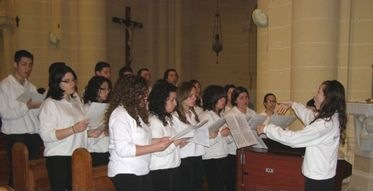 Schola Cantorum Jubilate participate in special High Mass at Ta Pinu