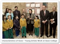Characteristics of Gozo - Young Artists Work at Gozo College