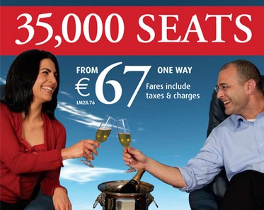 Outstanding response to Air Malta's Winter Sale