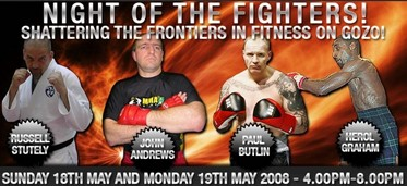 Top Fighters coming to The BodyForge today