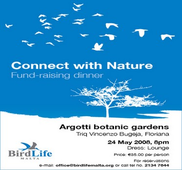 BirdLife Connect with Nature fundraising dinner