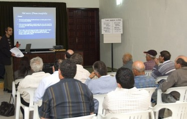 Information meeting held on diseases affecting Citrus Plants