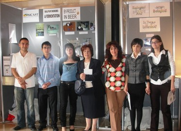 MCAST students win top three prizes at the 2008 NSTF Contest for Young Scientists