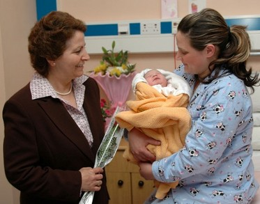 Mother's Day at the Gozo General Hospital