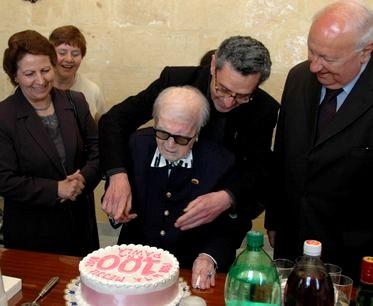 Ms Pawla Scicluna celebrates 100th birthday