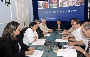 New under-graduate scholarship scheme