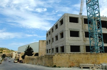 The first phase of works on Gozo school project is nearing completion