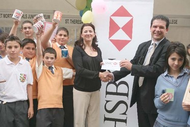 HSBC helps secondary students grow in business