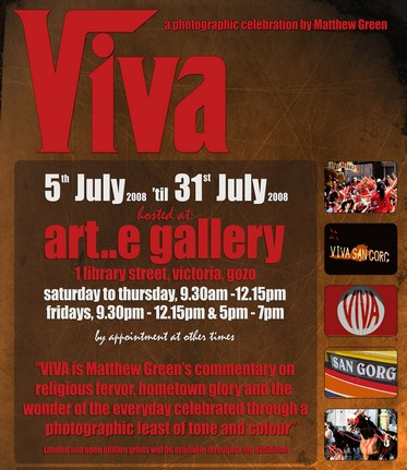 Viva - A Photographic Celebration by Matthew Green