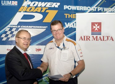 Air Malta - Official Carrier of the Powerboat P1 World Championships