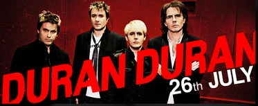 Vodafone offer discounted tickets for Duran Duran concert to their customers