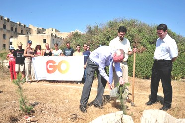 GO's initiative to plant trees and meet green targets