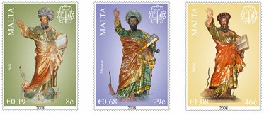 Annus Paulinus  2008 - 2009 stamp set issue